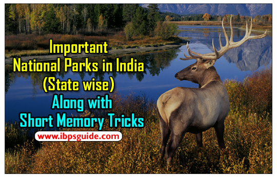 important national parks in india along with tricks to