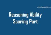 reasoning ability scoring part tricks