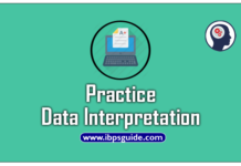 data interpretation questions for IBPS SBI PO Clerk RRB