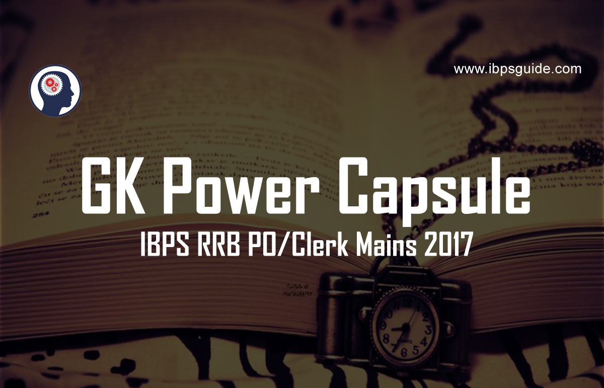 gk power capsule Sbi clerk gk capsule download links can be downloaded from this page in hindi/ english sbi clerk gk power capsules 2018 we are providing you the most.