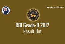 RBI Grade-B Result