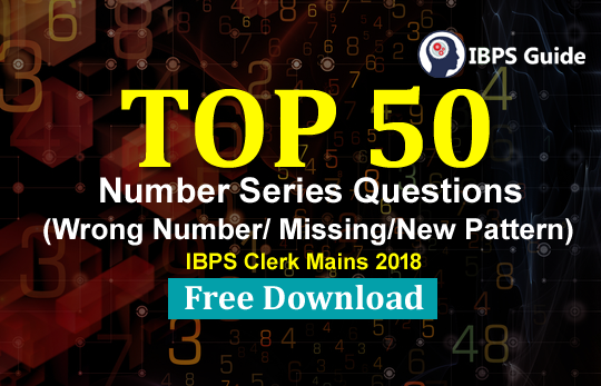 TOP 50 Important Number Series (Wrong/Missing Number) | Download