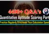 Quantitative Aptitude Scoring Part