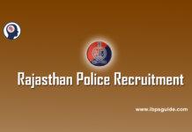 Rajasthan Police Recruitment
