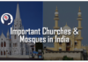 Important Churches and Mosques in India