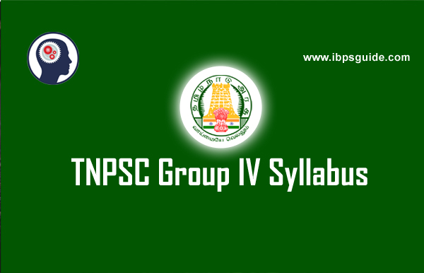 TNPSC Group 4 Syllabus & Exam Pattern Online PDF Download