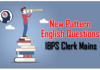 New Pattern English Questions