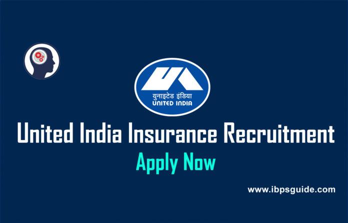 United India Insurance Recruitment