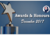 awards and honours in december 2017