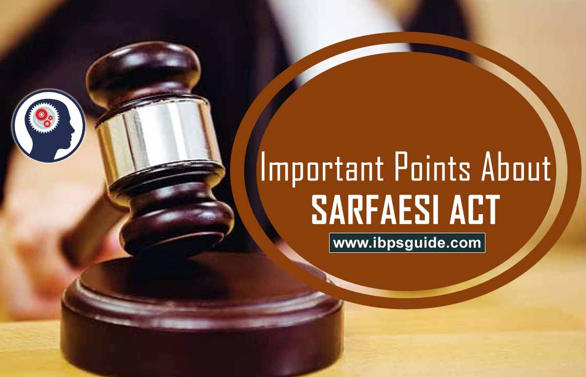 Important Information about SARFAESI Act - Free Download PDF