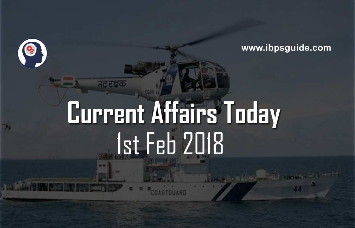 Current affairs 1st february 2018 current affairs updates fandeluxe Gallery