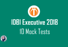 IDBI Bank Mock Test