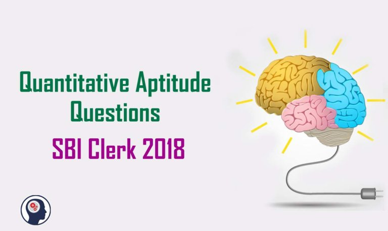 Quantitative Aptitude Questions (Percentage) for SBI Clerk 2018 Day- 95