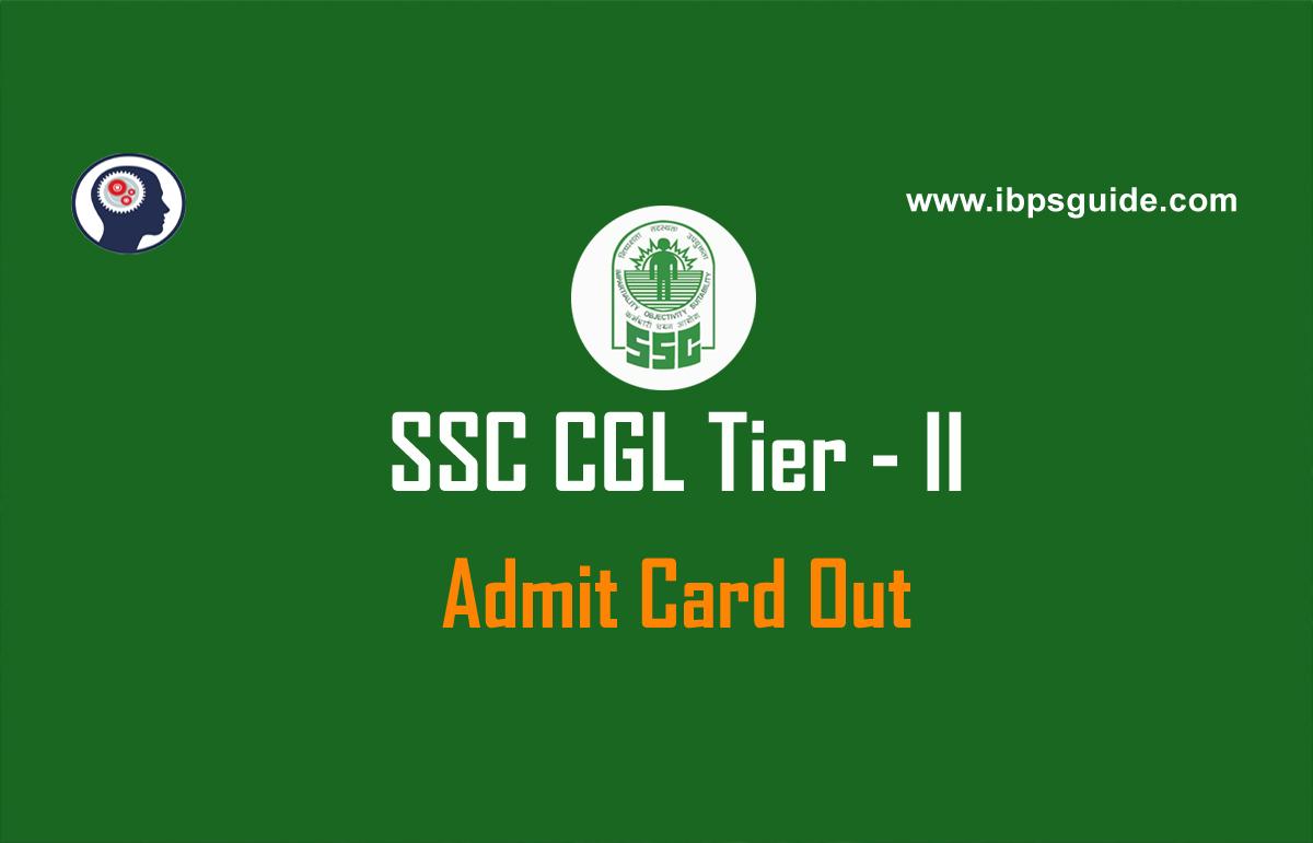 Ssc Cgl Admit Card: SSC CGL Tier-II Admit Card 2018 Announced