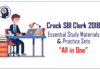 SBI Bank Exam Study Material