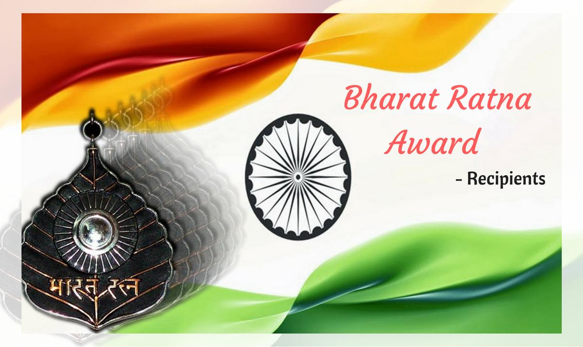 bharat ratna winners