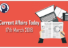 Current Affairs Updates