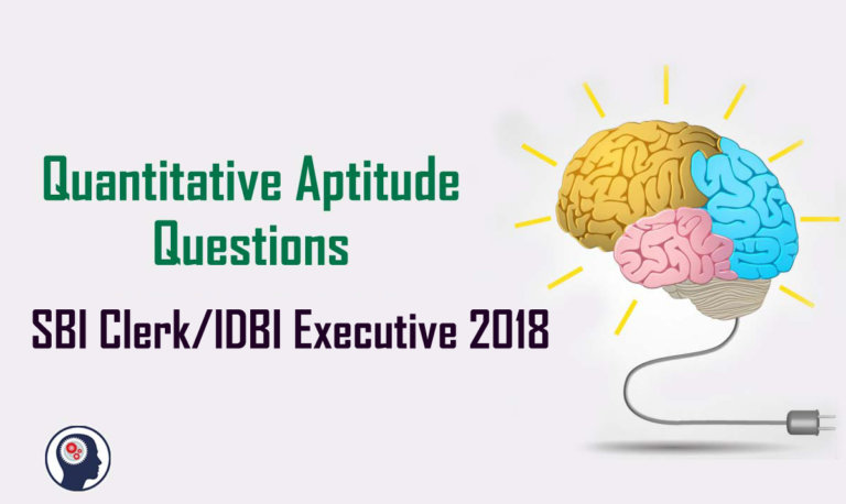 Quantitative Aptitude Questions (Percentage) for SBI Clerk /  IDBI Executive 2018 Day-51