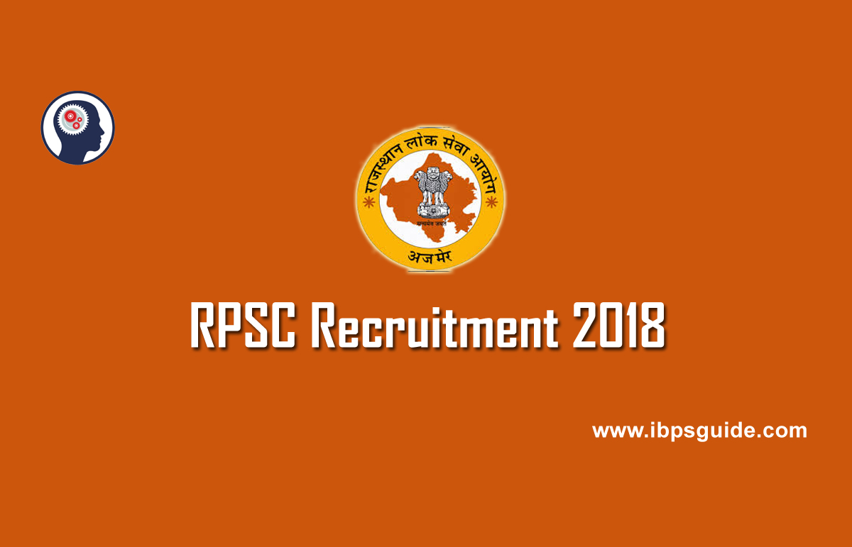 RPSC Recruitment 2018 | 130 Assistant Agriculture Officer