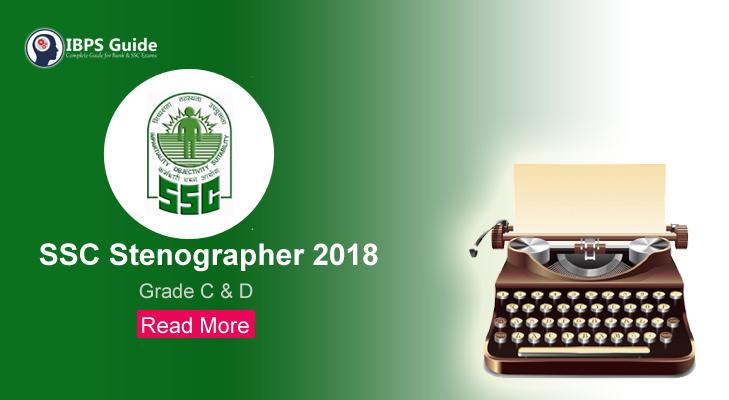 SSC Stenographer 2018 Recruitment | Apply Online upto 19th Nov
