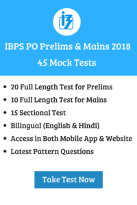 ibps po prelims mains mock test