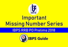 Missing Number Series
