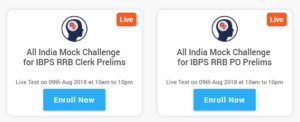 all india ibps rrb mock challenge