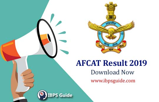 Indian Air Force Result 2019 | AFCAT Result 2019: Check Here