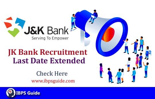 JK Bank Recruitment 2019   PO/ Clerk New exam Dates announced