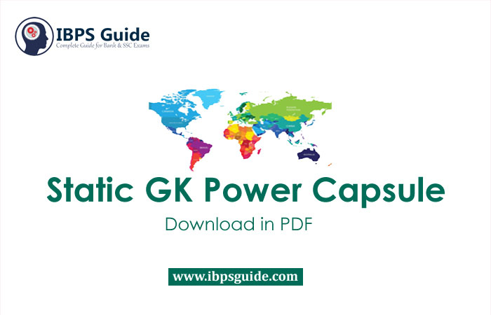 Important Static GK PDF for Bank Exams - Free Download