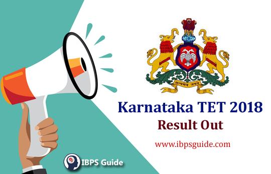 Karnataka TET Result 2018: Check Here!!!