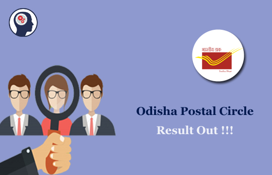 Odisha Postal Circle Result 2018: Postman & Mail Guard