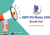 IBPS PO Mains results
