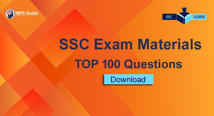 TOP 100 Important Synonyms for SSC Exams Part-1 | Download