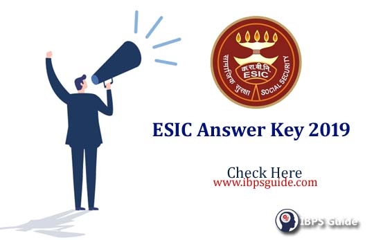 ESIC Delhi Answer Key 2019: Check The Details Here