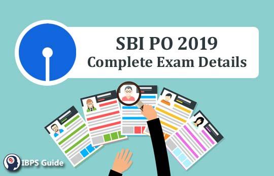 SBI PO 2019 Notification PDF, Exam Dates, Exam Pattern Syllabus