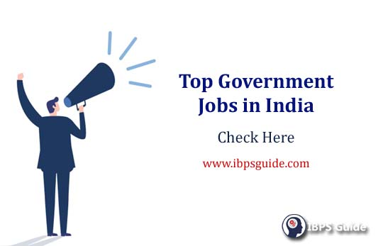 Top Government Jobs in India - Reputed Govt Jobs