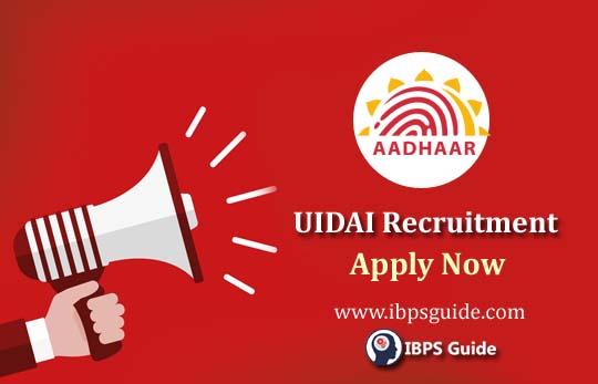 Aadhar Card Recruitment 2019 (UIDAI) | Multiple Jobs @ UIDAI