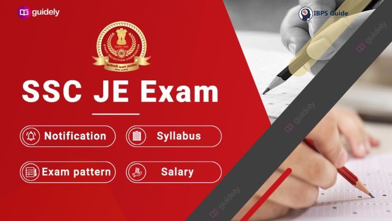 SSC JE 2021 Recruitment Exam: Apply Online link, Notification PDF, Admit card