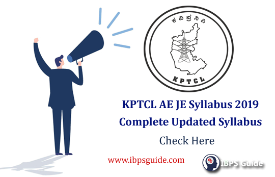 KPTCL AE JE Syllabus 2019: Complete Updated syllabus