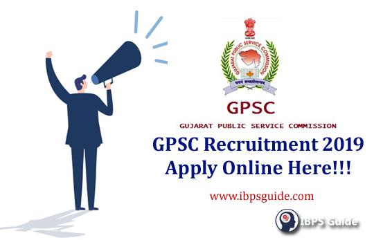 GPSC Recruitment 2019 | Apply online 1363 vacancies