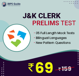 JK Clerk Prelims Test