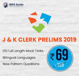 J&K-CLERK-Prelims-Test