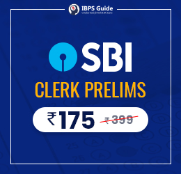 SBi clerk prelims