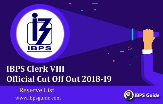 IBPS Clerk Mains 2019 Official Cutoff with Detailed Exam