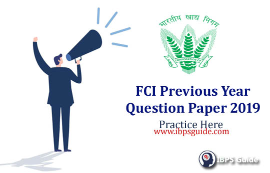 FCI Previous Year Paper PDF: Check And Practice Now