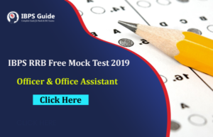 IBPS RRB Free Mock Test 2019