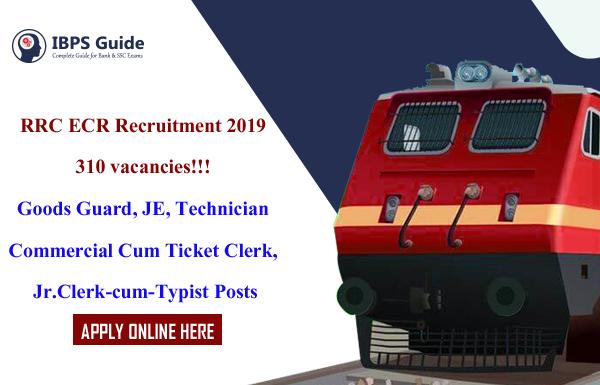 RRC East Coast Railway Recruitment 2019: 310 Vacancies