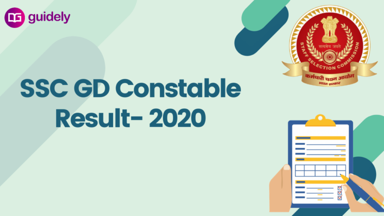 SSC GD Constable Result 2020-21 : Download Link Here