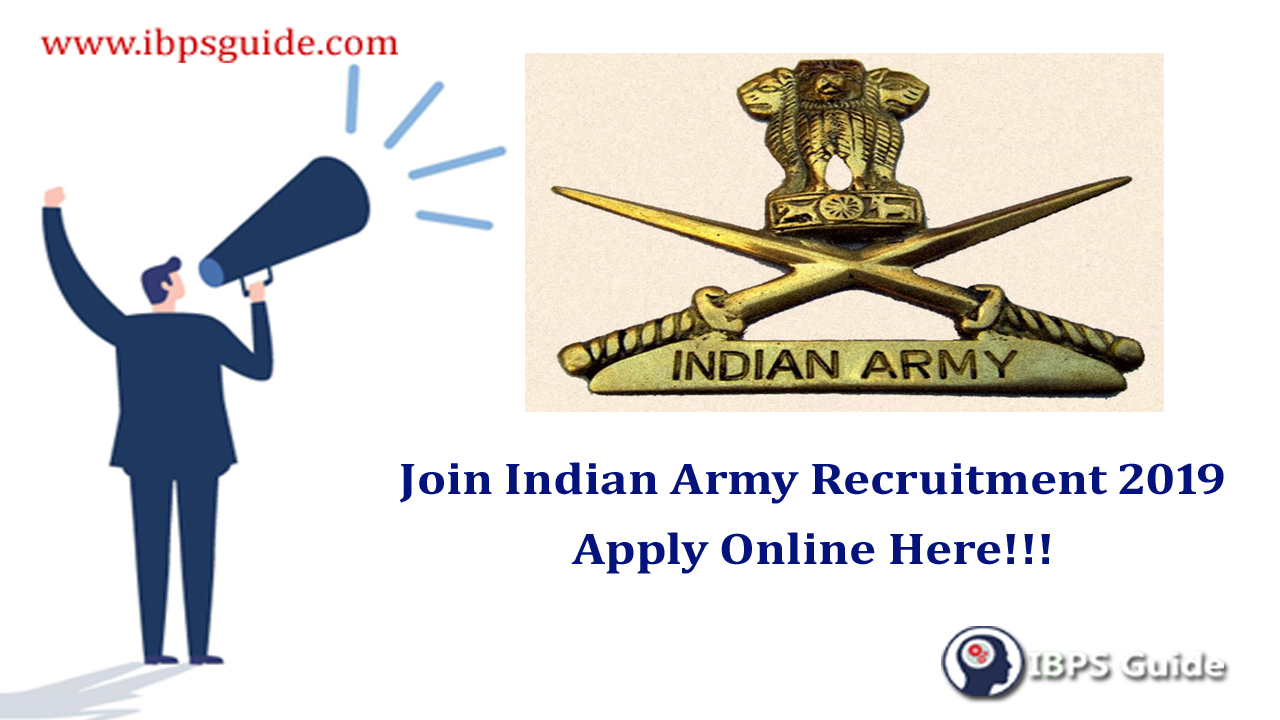 Join Indian Army Recruitment 2019 | Army Recruitment Rally